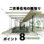 二世帯住宅の間取りⅡ:8つのポイント