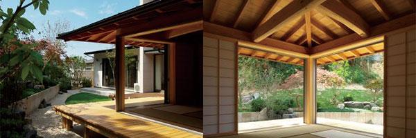 家の外観、軒裏の見え方(内側から)