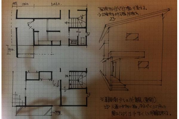 家の外観(Before)